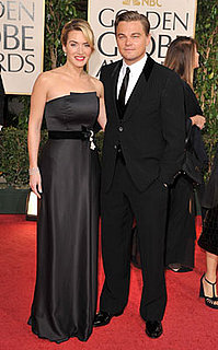 Photos of Kate Winslet and Leonardo DiCaprio at 2009 Golden Globe Awards