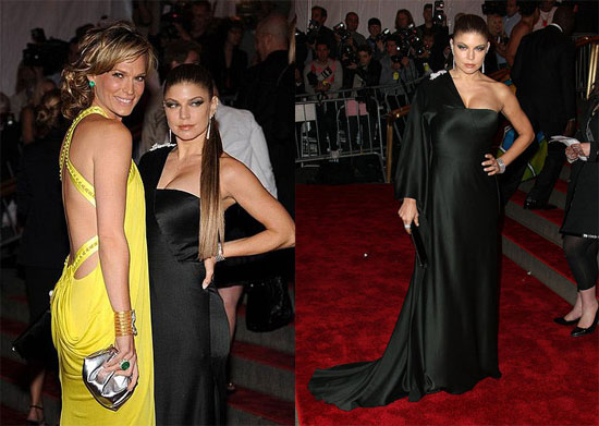 Fergie Goes Fierce at the Costume Institute Gala