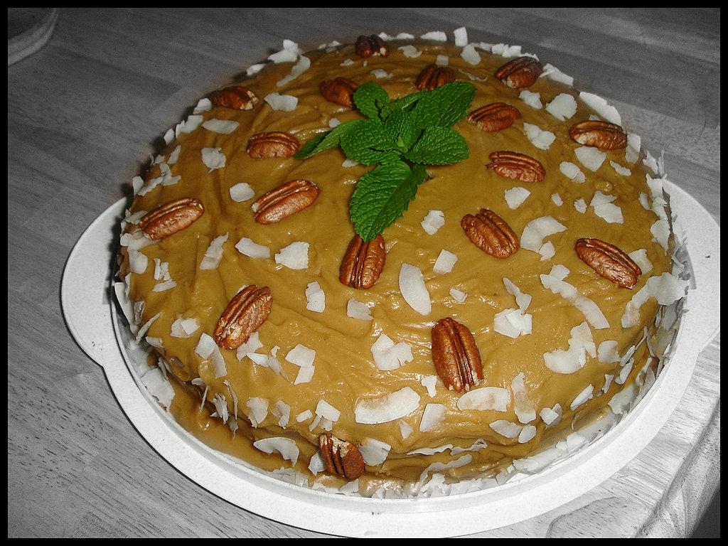Caramel Pound Cake Paula Deen