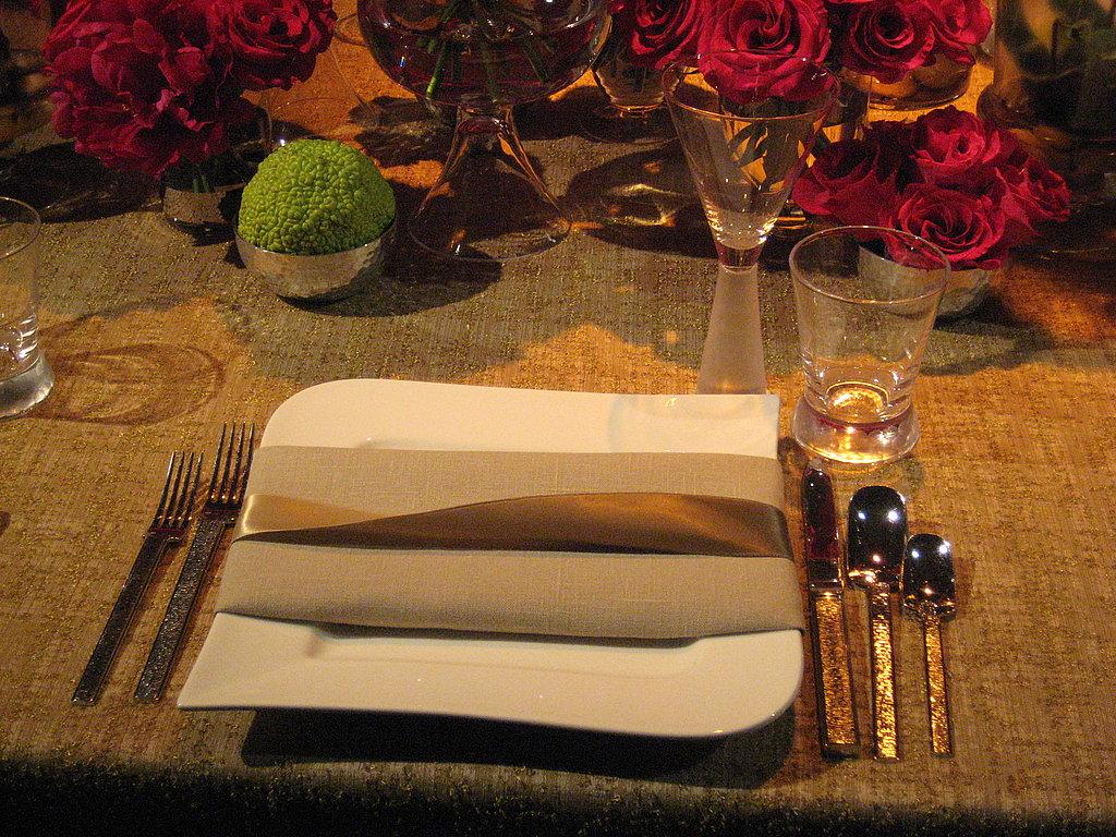 Satin Ribbon Makes Elegant, Affordable Place Setting