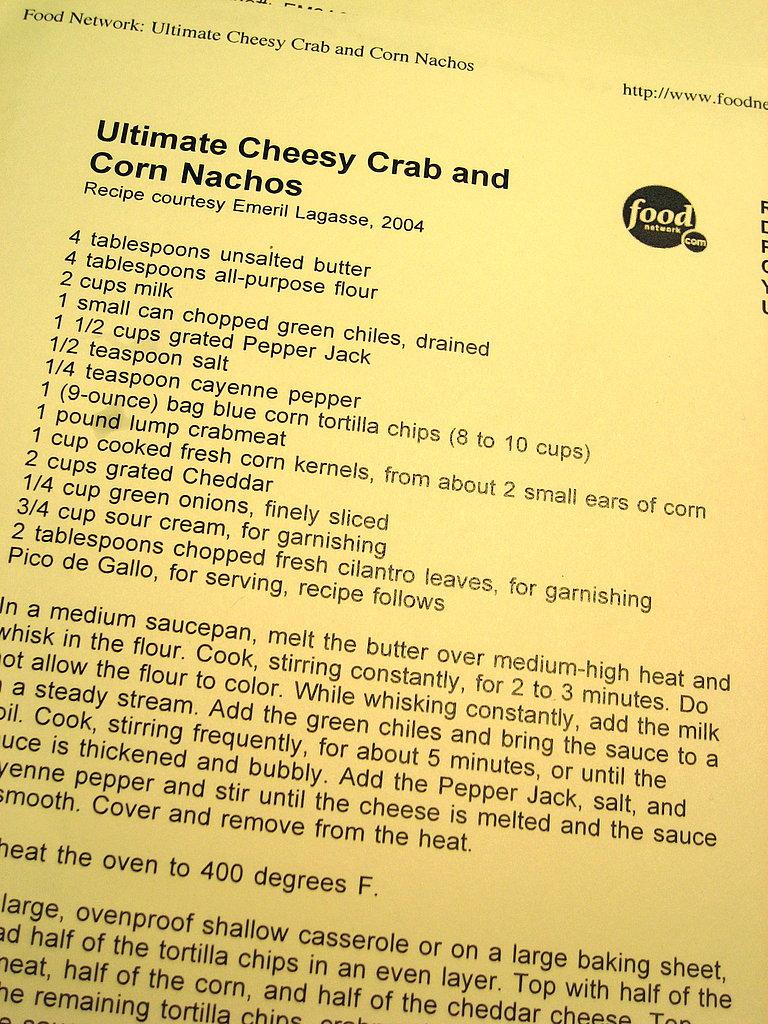Crab Nachos