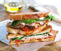 Fast & Easy Dinner: Turkey Panini
