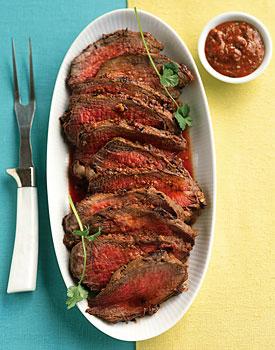 Sunday Dinner: Harissa-Crusted Tri-Tip Roast
