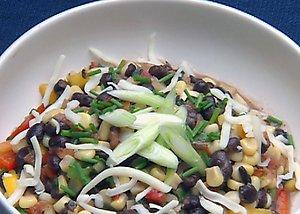 Sunday Dinner: Black Bean and Roasted Corn Salad