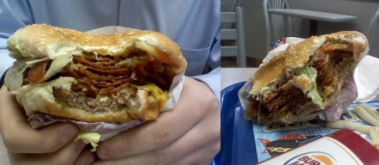 Would You Eat This Whopper With Bacon and Cheese?