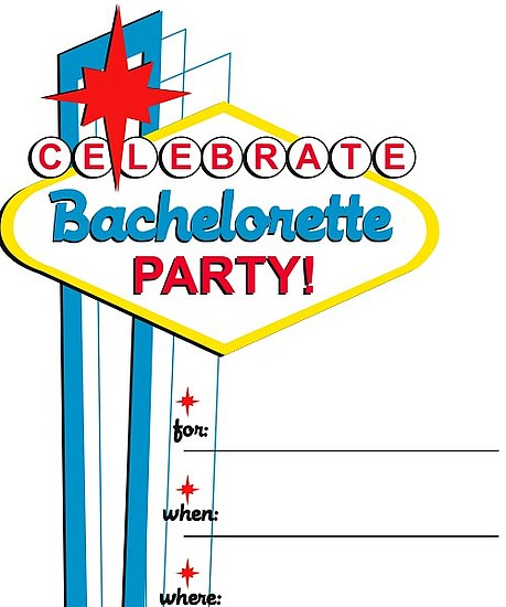 Download Our Bachelorette Party Invitations!
