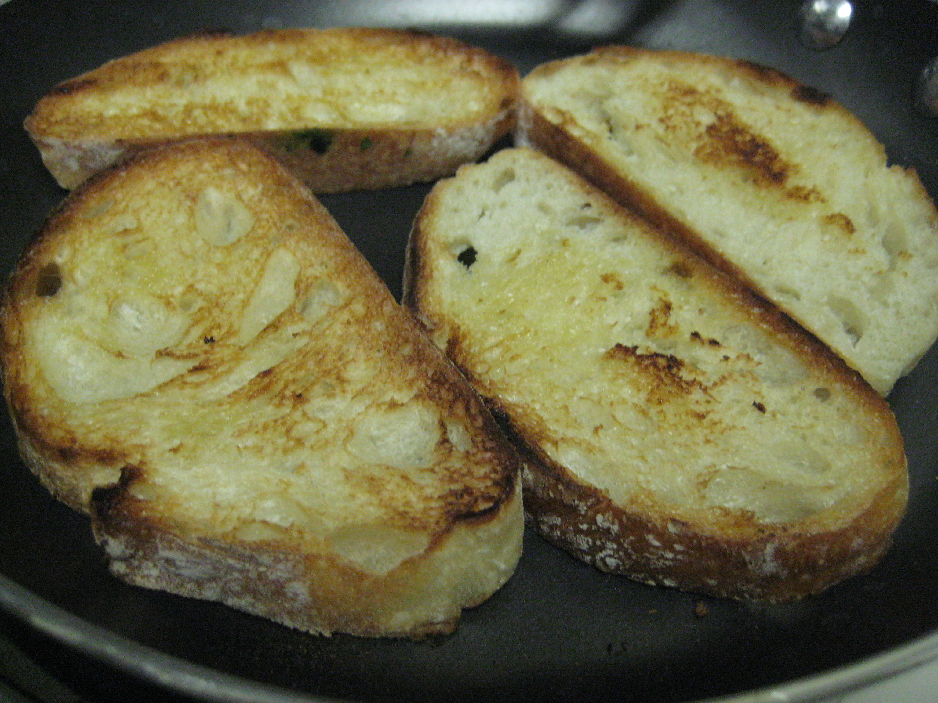 Crisp bread.