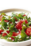 Watermelon Arugula Salad