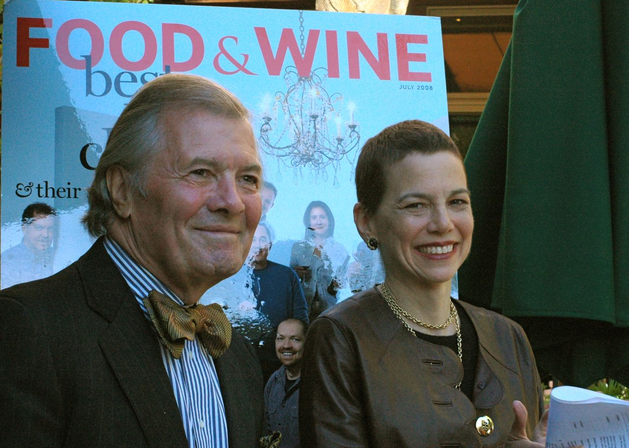 Jacques Pepin and Dana Corwin hosted a party in honor of the CIA's top ten students. At the party I caught up with Gail Simmons.