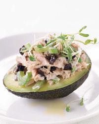 Fast & Easy Dinner: Fresh Tuna Salad with Avocado