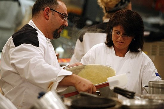 Speaking with Hell's Kitchen Runner Up Petrozza