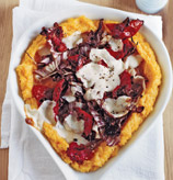 Fast & Easy Dinner: Deep-Dish Polenta Pizza