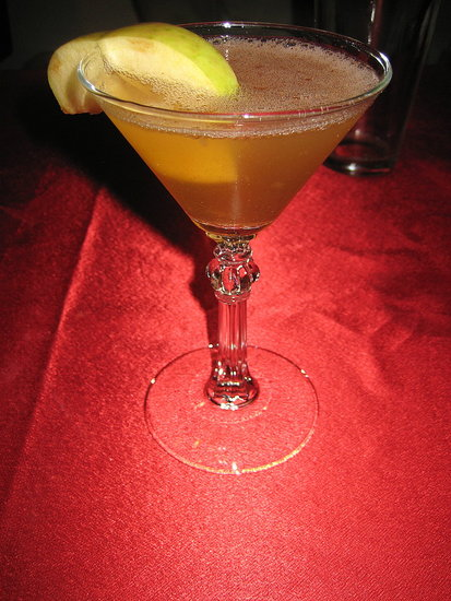 Happy Hour: Ruby Chai Appletini