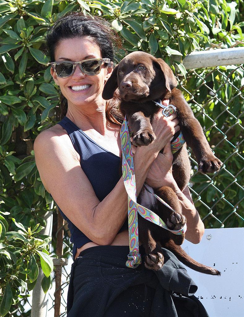 New Puppy Alert! Janice Dickinson