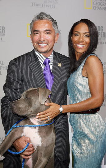 Jada Celebrates The Dog Whisperer's 100th Episode With Cesar