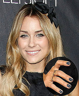 Love It or Hate It? Lauren Conrad's Charcoal Nails