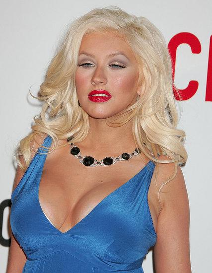 Christina Aguilera Rocks the Vote