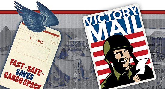 """The National Postal Museum Says """"You've Got Victory Mail"""""""