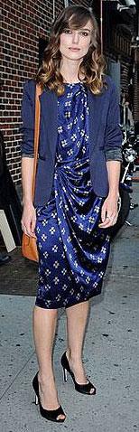 Celeb Style: Keira Knightley