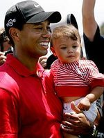 Lil Links: Tiger Woods Says Sam Is a Bilingual Baby