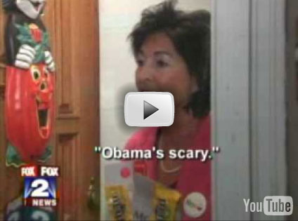 Woman Only Passed Out Candy to Kids Who Support McCain!