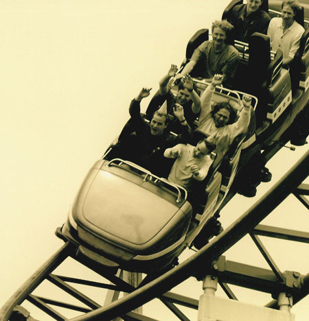 Mother Spent Hours on Roller-Coaster Ride, Unaware She About to Give Birth!