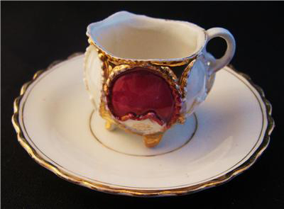 Vintage Gold Trimmed Cup and Saucer