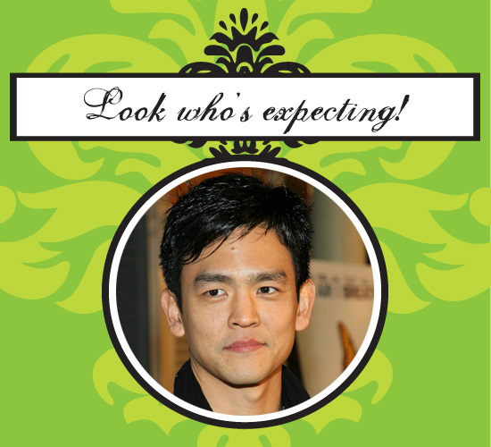 John Cho's Having a Baby!