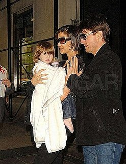 Tom Cruise and Katie Holmes Angry at Petite Trésor