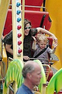 Liv Takes Milo on a Ride