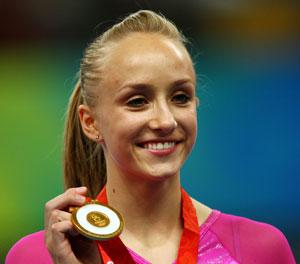 Nastia Liukin Wins Gold