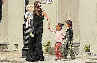 Angelina Jolie and Kids