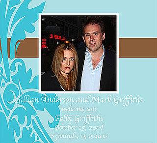 Gillian Anderson Has Baby