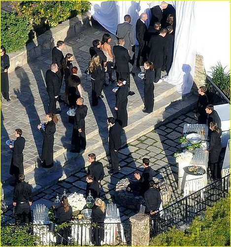 Fergie Wedding Pictures — Start Squinting!