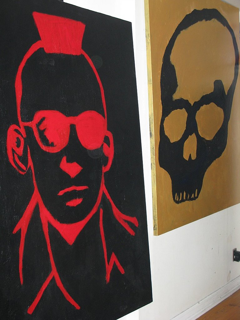 Designer Izzy Gold's Studio