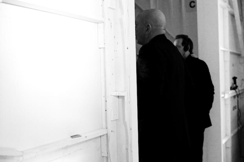 Tony Cohen Backstage & Runway