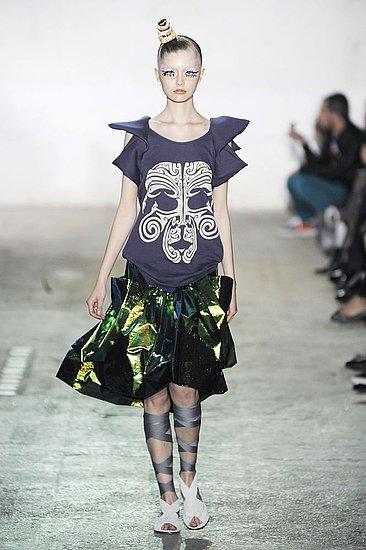 Paris Fashion Week: Bernhard Willhelm Spring 2009