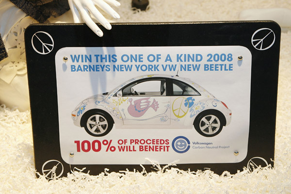 """Barneys """"Have A Hippie Holiday"""" Holiday Windows"""