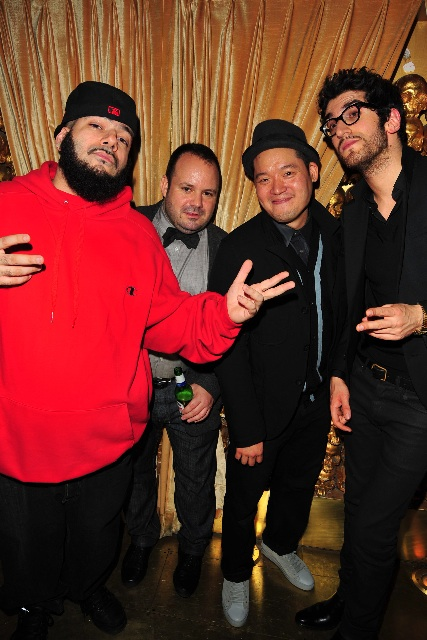 Paul Birardi, Eddy Chai, David 1 (of Chromeo)