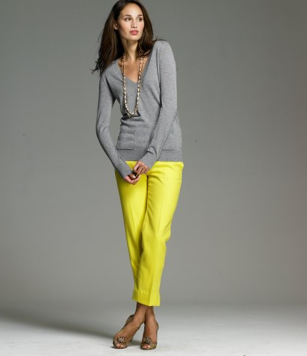 Merino V-Neck Sweater $39.99, J. Crew