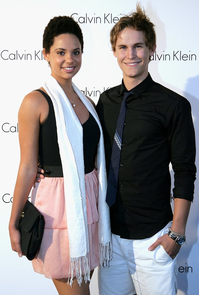 Actor Rhys Wakefield and friend