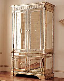 Mirrored Armoire�-� Furniture�-� Neiman Marcus