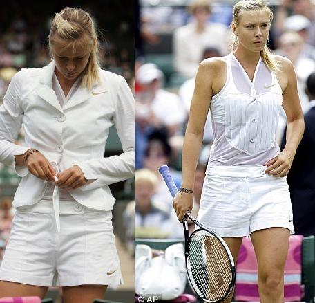 Trendy Maria Sharapova for Wimbledon
