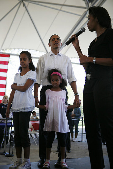 """Should Barack Obama's Opponents """"Lay Off"""" His Wife?"""