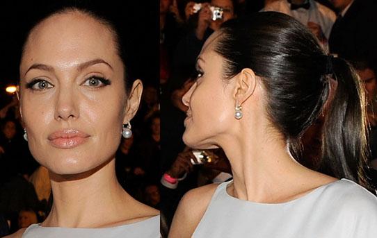 Angelina Jolie at the Critics Choice Awards in 2009