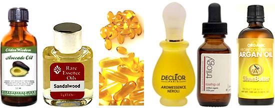 Plumping Facial Oil For Dry Skin