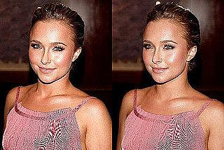 Hayden Panettiere's Pretty in Pink Makeup