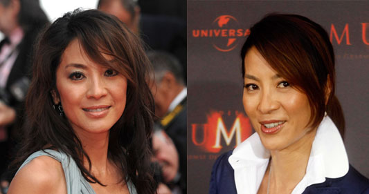 Which Hairstyle Looks Better on Michelle Yeoh?