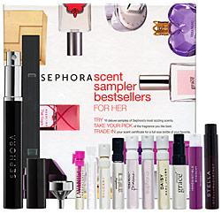 Friday Giveaway! Sephora Scent Sampler Bestsellers For Her