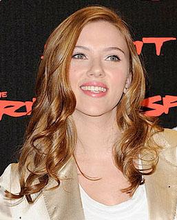Scarlett Johansson With Red Hair